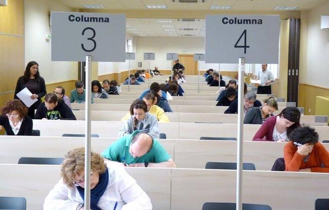Examen en la UNED.