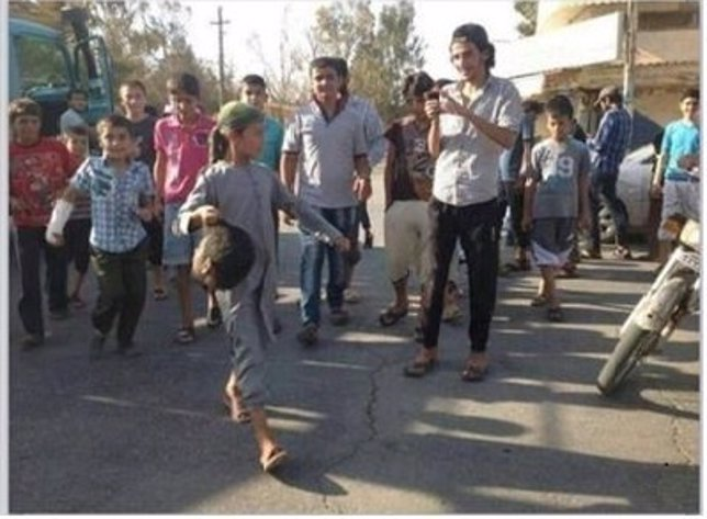 El terrorista de Estado Islámico Abou Tasnim, alias Kokito en Siria