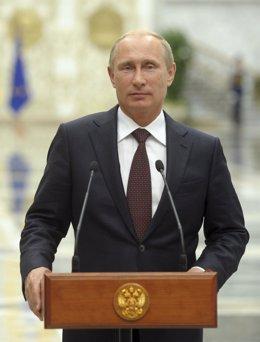 El presidente ruso, Vladirmi Putin