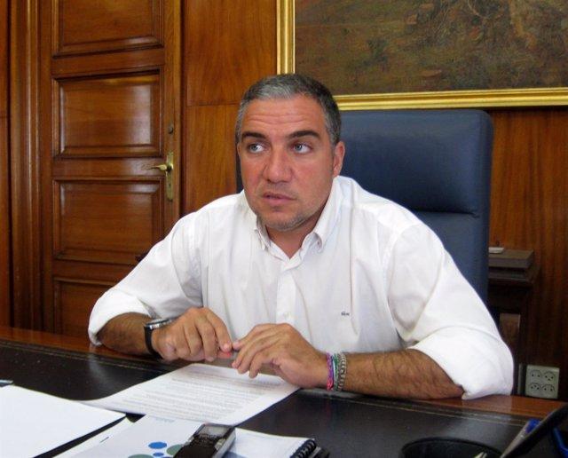 Elías Bendodo, presidente PP Málaga y Diputación y portavoz del PP-A