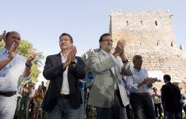 """(AMP) Rajoy defiende el resultado de sus reformas económicas y compromete una """"guerra sin cuartel"""" contra el paro"""