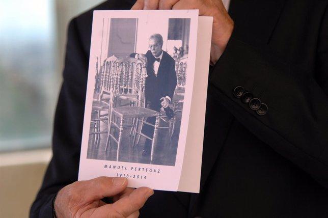 Recordatorio del funeral de Pertegaz