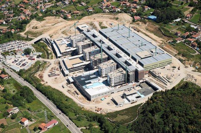 El nuevo hospital de Vigo