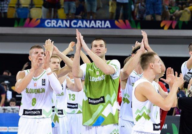 Eslovenia celebra el triunfo sobre México en la Copa del Mundo