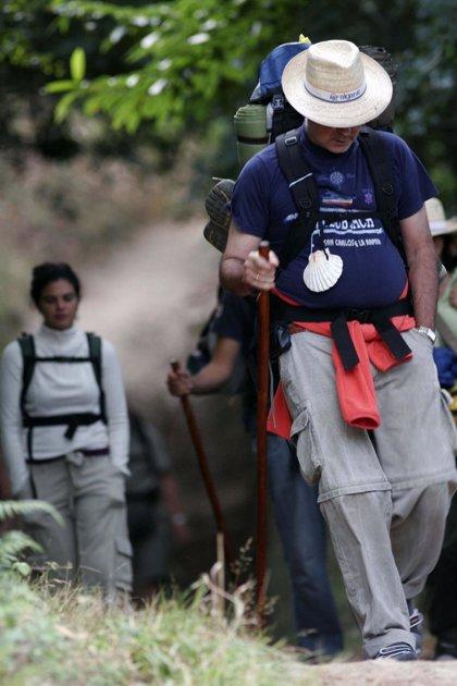 Los peregrinos a Santiago aumentan en 4.500 en agosto, hasta los 51.219