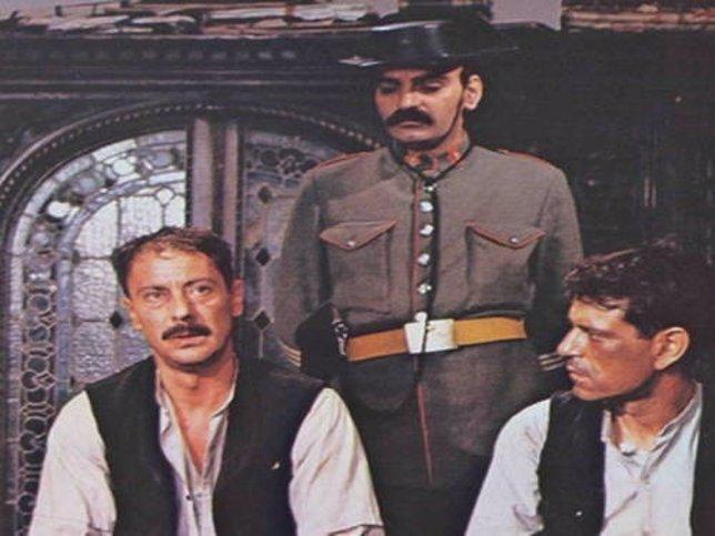 Daniel Digenta (izquierda) en 'El crímen de Cuenca'