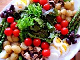 Ensalada, dieta mediterránea
