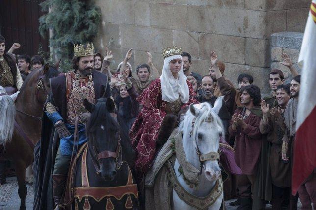 Isabel Tercera temporada.