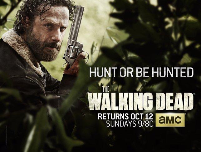 Cazar o ser cazado, en el nuevo cartel de The Walking Dead