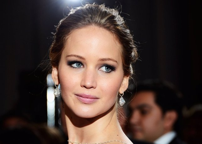 Actress Jennifer Lawrence Arrives At The Oscars At