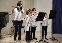 Talleres musicales en el Ataulfo Argenta