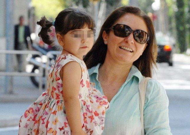 Montserrat marticon su hija