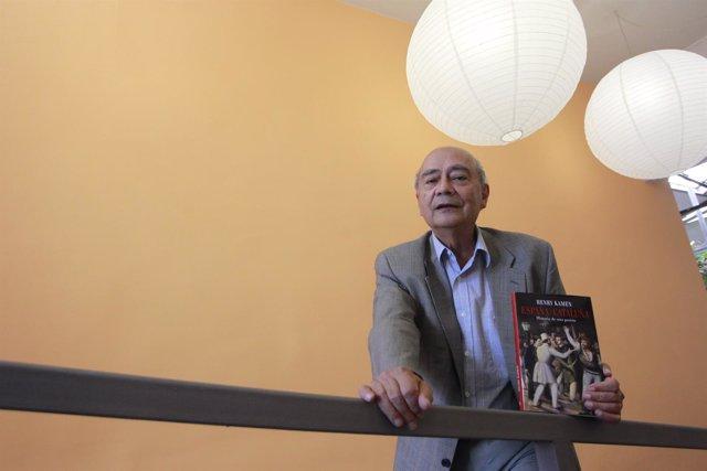 El hispanista Henry Kamen presenta el ensayo 'España y Cataluña'.