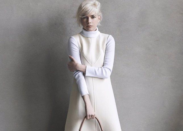 Michelle Williams de nuevo embajadora de Louis Vuitton