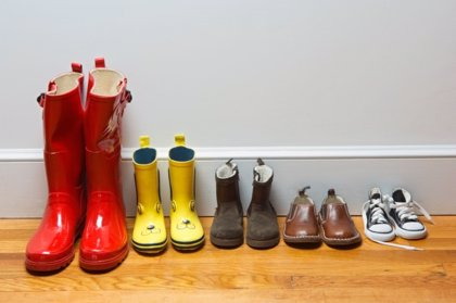 ¿Cómo comprar zapatos a los más pequeños?