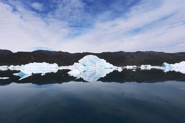 Groenlandia, glaciar