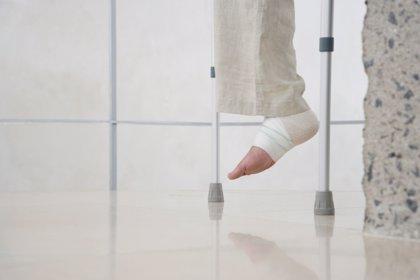Recuperarse de un esguince de tobillo