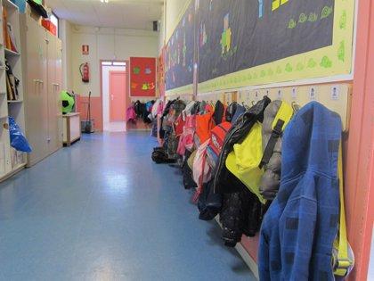 Más de 17.000 niños de tres años se incorporan este lunes al sistema educativo en el comienzo del curso