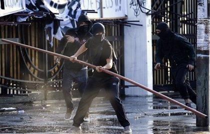 La marcha por los Derechos Humanos, en el aniversario del golpe militar en Chile, acaba con disturbios