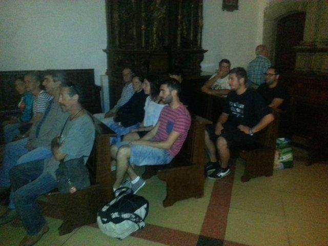Activistas encerrados en Santa María