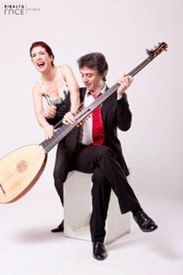 Emanuela Galli y Gabriele Palomba