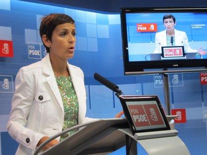 La navarra María Chivite será la portavoz del PSOE en el Senado