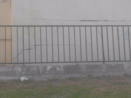 El Ayuntamiento asegura que el edificio con grietas en Huerta La Palma no está entre los rehabilitados