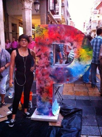 'La española' ganadora de 'Palencia con P'