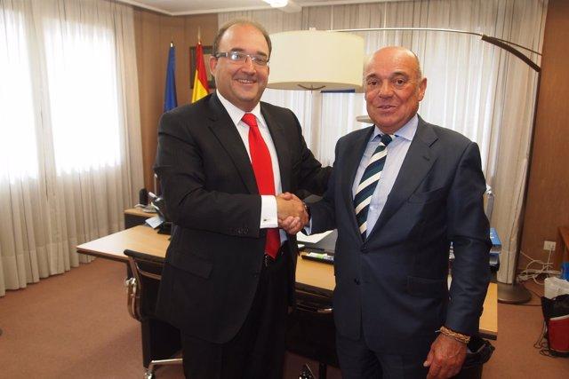 Convenio FER y Santander