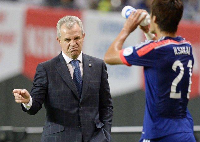 Javier Aguirre debuta como seleccionador de Japón