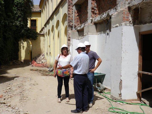 La delegada ha visitado hace unos días las obras del Palacio de Congresos