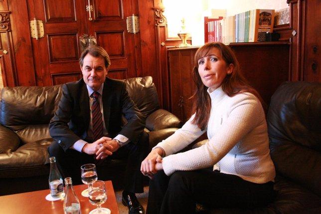 Artur Mas y Alicia Sánchez Camacho (Archivo)