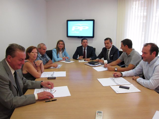 Reunión PP con Agrupaciones Protección Civil