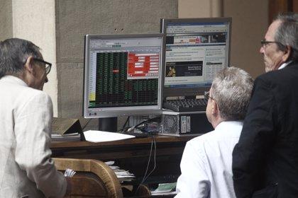 Economía/Bolsa.- El Ibex cae un 0,51% a media sesión y pierde los 11.100, ajeno a la mejora de previsiones de la OCDE
