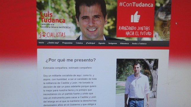 Nueva web de Tudanca