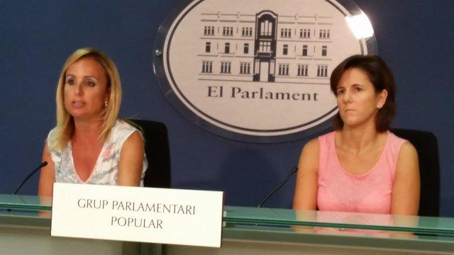 Cabrer y Bauzá en la rueda de prensa