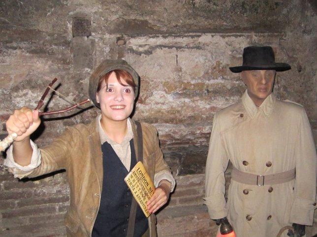 Uno de los personajes del espectáculo 'Jack L'Esbudellador'