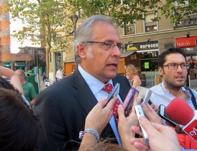El subdelegado de Gobierno en Valladolid, Antonio Martínez Bermejo