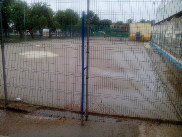 La lluvia ha ocasionado diversos desperfectos en San Juan.
