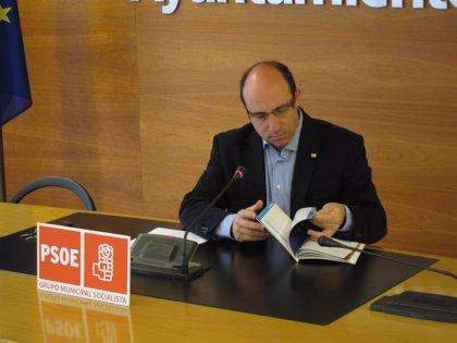 El PSOE alerta que la deuda por logroñés ha aumentado en 522 euros, hasta los 891, tras el crédito para el soterramiento