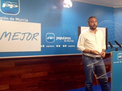 """El PP muestra su """"satisfacción"""" por un comienzo del curso """"modélico"""" en la Región de Murcia"""