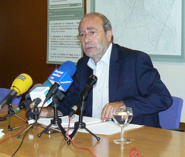 Manuel Robles, alcalde de Fuenlabrada