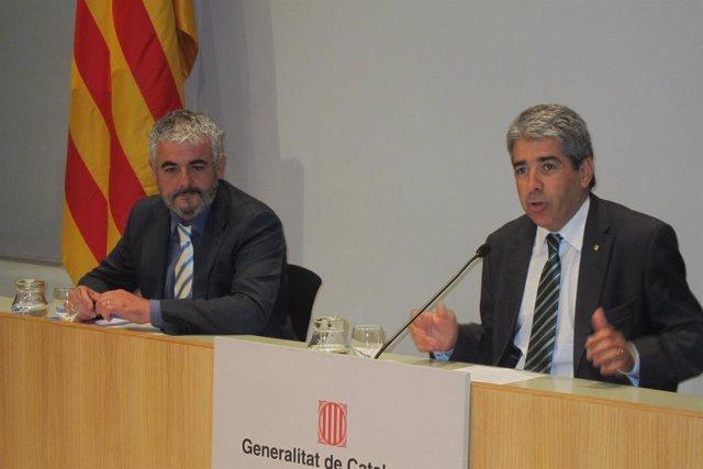 Josep Martí, conseller Francesc Homs