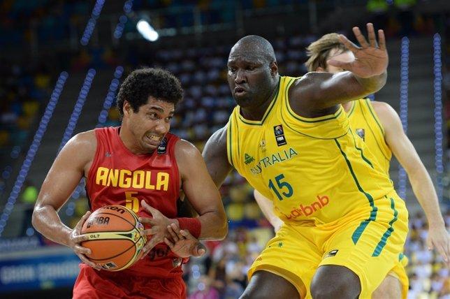 Jawai trata de frenar a Costa en el Australia-Angola