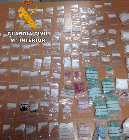 Detenidos dos jóvenes en Ibiza con más de 7.500 pastillas de éxtasis