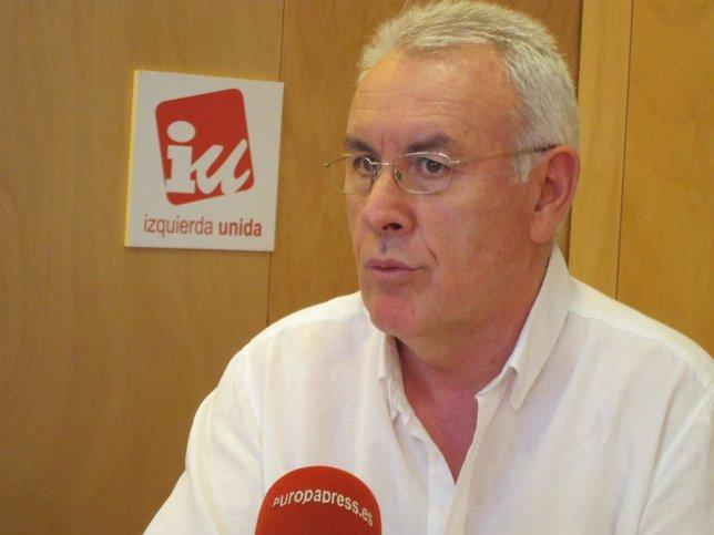 El coordinador federal de IU, Cayo Lara