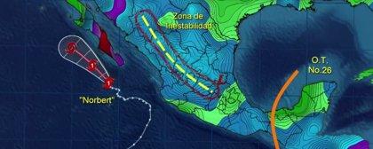 'Norbert' deja cuatro muertos a su paso por el noroeste de México