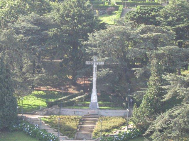Cruz en el monte de O Castro, Vigo