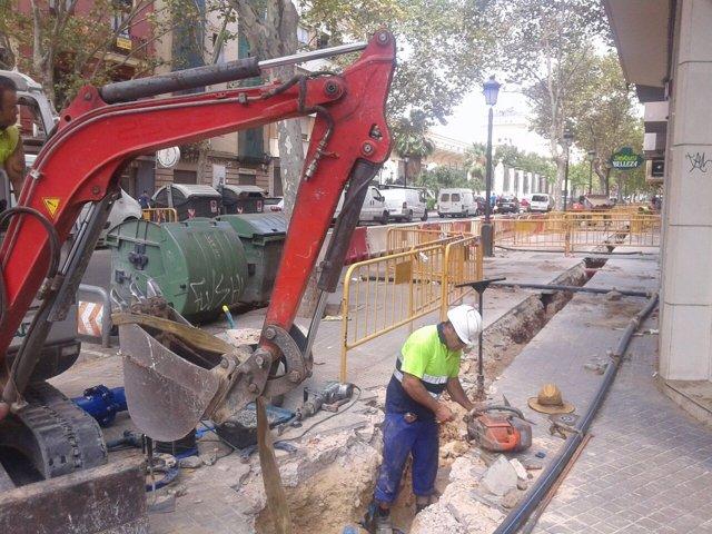 Renovación agua potable en Arrancapins