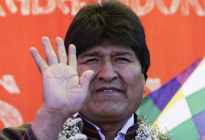 Morales dice que su reelección garantiza la estabilidad política y económica en Bolivia